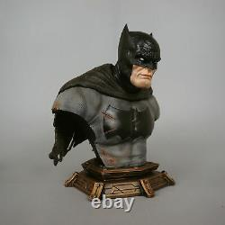 1/3 Scale Batman Arkham City Bust Recast Resin Figure Statue 11H With3 heads