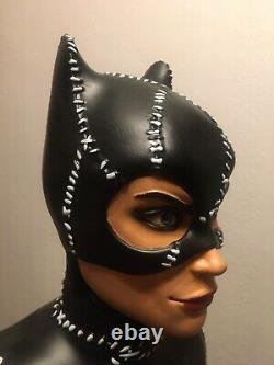 19 Inch Catwoman Bust Statue 3D Printed And Life Size Freddy Krueger Head Prop