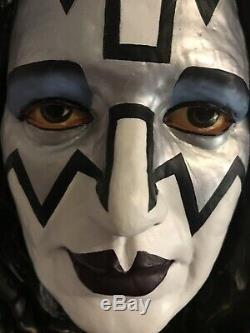 Ace Frehley Head Bust Illusive Originals # 732 Of 15,000 KISS Figure Statue