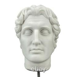 Alexander the Great Greek Macedonian King Bust Head Sculpture Statue 10 inches