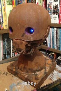 Custom Star Wars K2SO Rouge One life size light up head bust statue