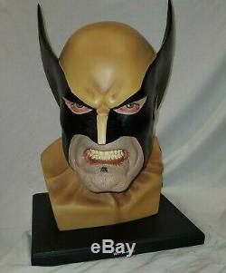 Dynamics Forces LIFE SIZE WOLVERINE Bust Head MARVEL By ALEX Ross Statue X-MEN