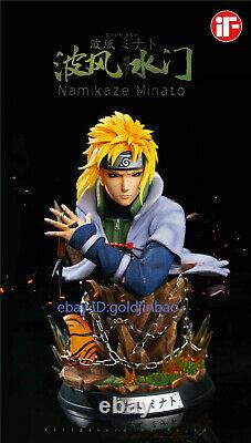 IF Studio 1/6 Namikaze Minato Bust Resin Model Painted Statue In Stock Two Head