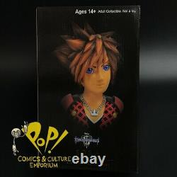 KINGDOM HEARTS 3 Legends in 3D SORA 1/2 Scale 10 BUST Diamond Select IN USA NOW