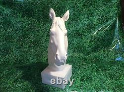 Latex And Fibreglass Mould Horse Head Bust Gatekeeper 45cm Tall Ornament Mould