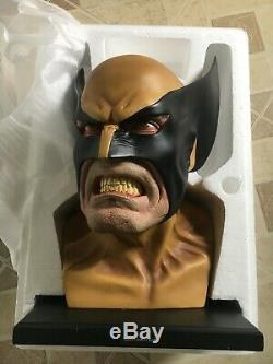 Marvel Dynamic Forces WOLVERINE Full-Size Head Bust Statue MIB Never Displayed
