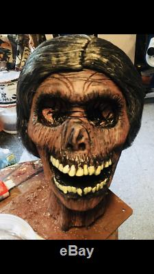 Norma Bates PSYCHO Bust Head Hitchcock Life size Statue Myers Freddy Leatherface