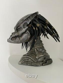 PREDATOR Jungle Hunter Big Game 1/4 Statue From Prime 1 Fort Head Bust + Stand