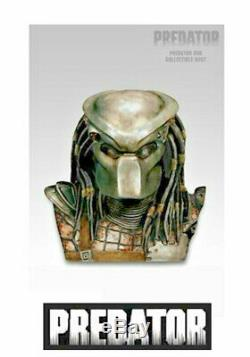 Predator Head Limited Edition Statue Bust 6 Disc Ultimate DVD Collection