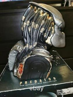 Predator Head Limited Edition Statue Bust 6 Disc Ultimate DVD Collection Boxed
