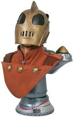 Rocketeer Legends In 3D 1/2 Scale Bust New Toy Statue, Collectible