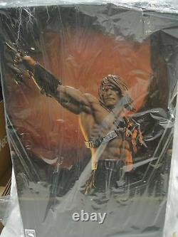 SIDESHOW EXCLUSIVE HE-MAN PREMIUM FORMAT Figure Statue MARVEL Bust SHE-RA Bust