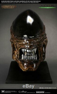 Sideshow CoolProps Life Size ALIEN NEW WARRIOR HEAD Bust Statue (Giger Predator)