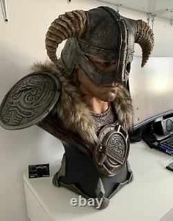 The Elder Scrolls Dragonborn bust 11 Scale statue by Gaming Heads