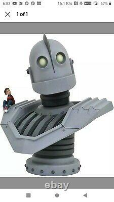 The Iron Giant Figure 1/2 Scale Bust Up Statue Diamond Select Limited 25 #0260